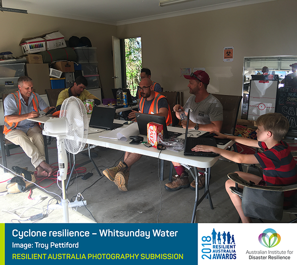 Cyclone resilience – Whitsunday Water – Troy Pettiford