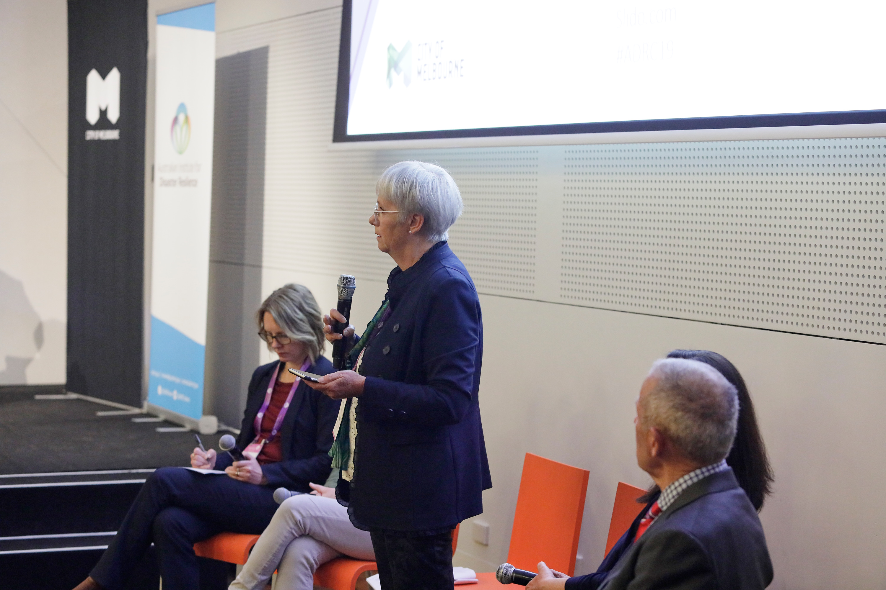Leanne Barnes, General Manager at Bega Valley Shire Council during a panel session on recovery.